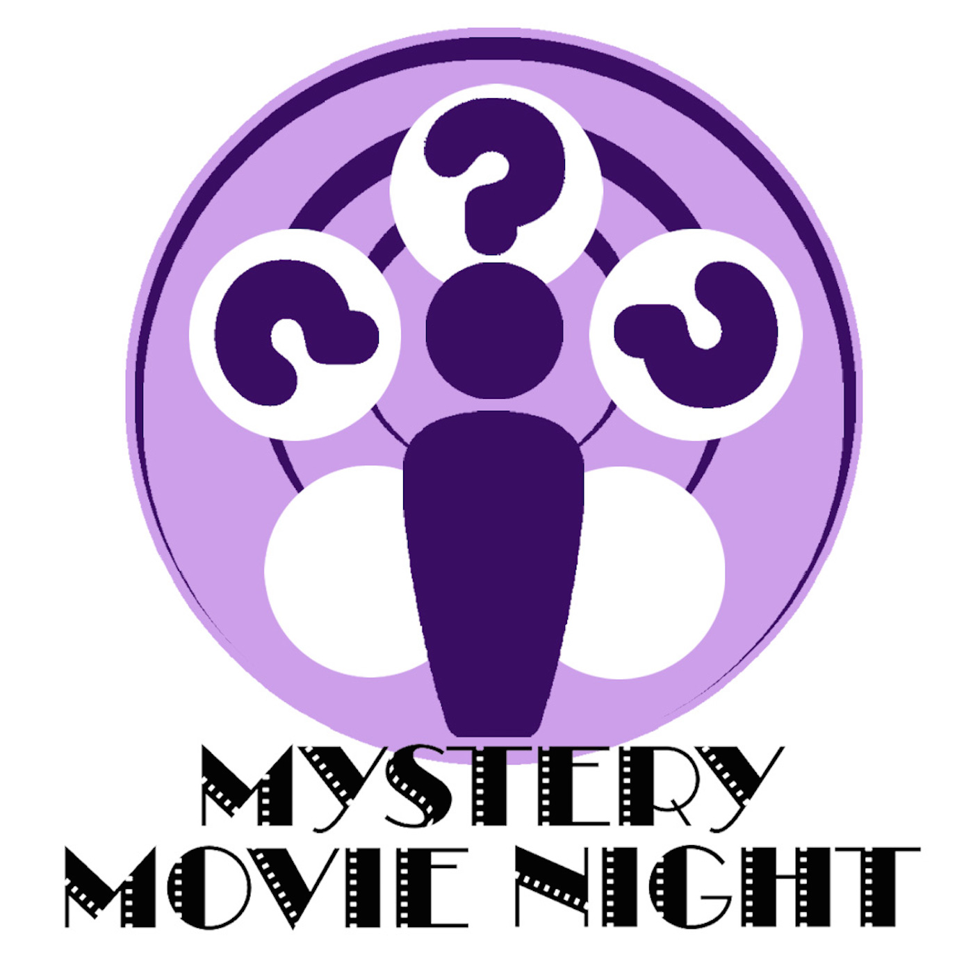 Mystery Movie Night show art