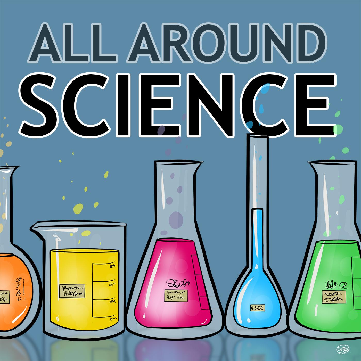 All Around Science show art