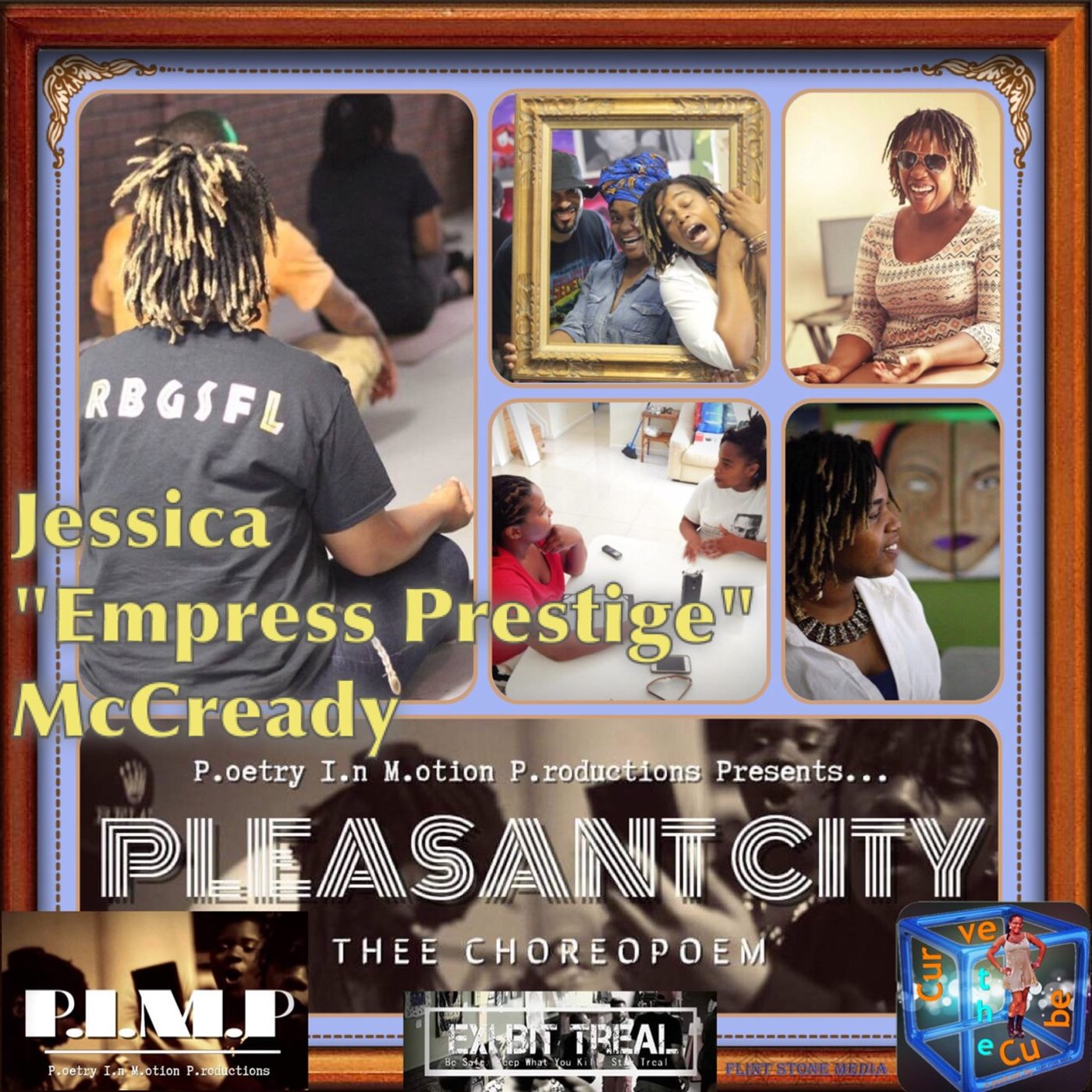 "#85 – POET, WRITER, AND DIRECTOR – Jessica ""Empress Prestige"" McCready - 2016-07-17"