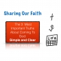 Artwork for Sharing Our Faith: 3 Things We Should Make Clear