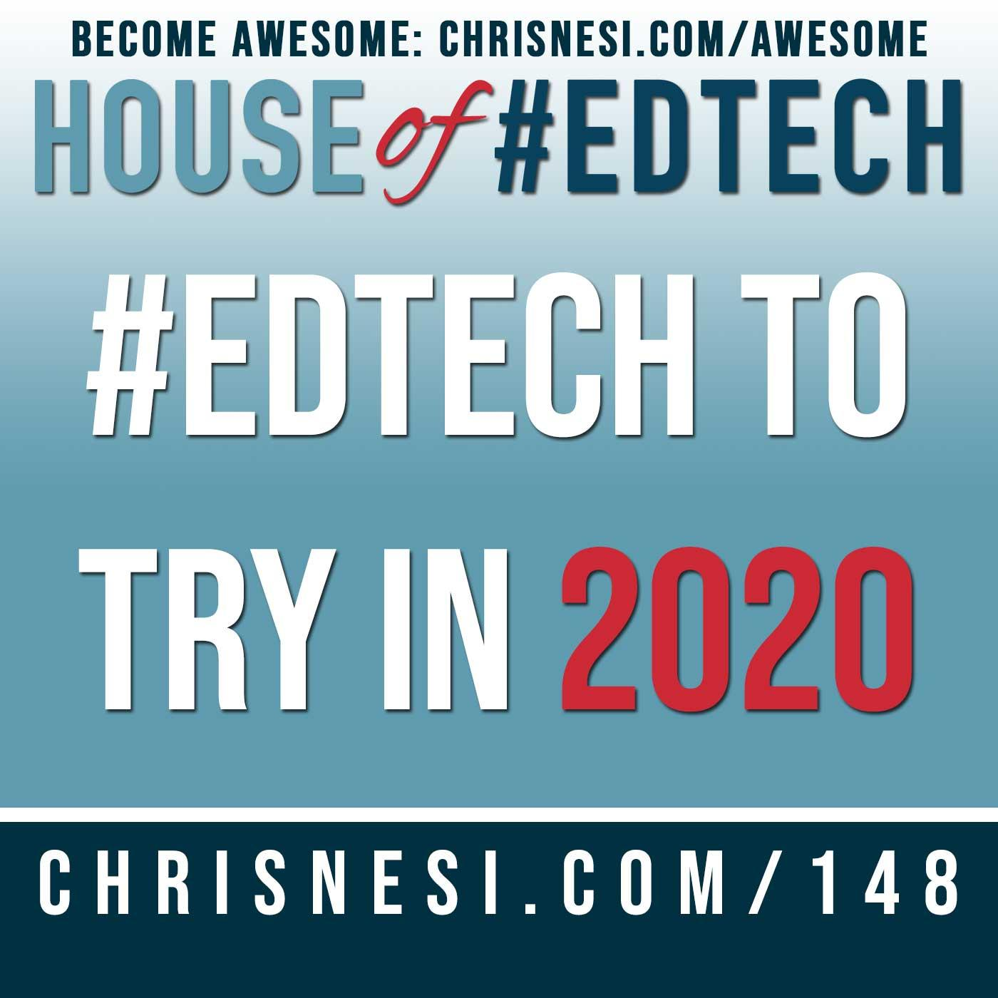 #EdTech to Try in 2020 - HoET148