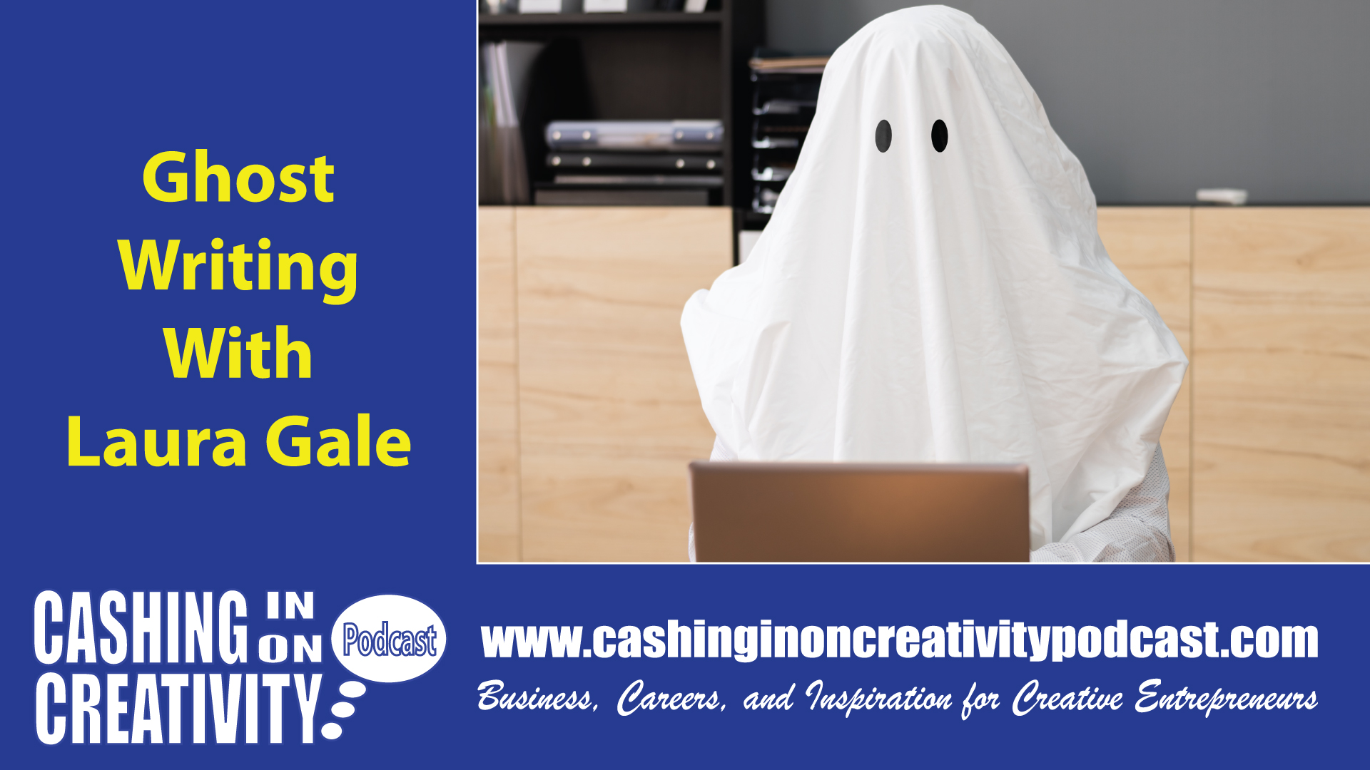 CC244 Ghost Write Your Next Book with Laura Gale