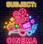 "Artwork for Subject:CINEMA #524 - ""Subject:CINEMA'S TENTH ANNIVERSARY - The Pantheon Part 2 - June 12 2016"
