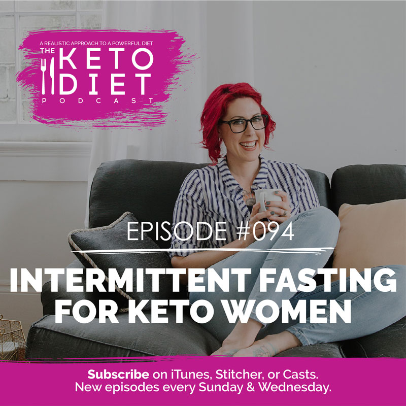 #094 Intermittent Fasting for Keto Women with Megan Ramos
