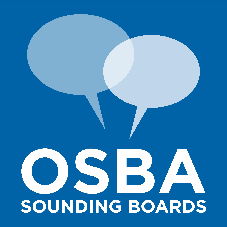 OSBA Sounding Boards podcast show art