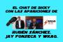 Artwork for El chat de Ricky con las apariciones de Rubén Sánchez, Jay Fonseca y WKAQ.