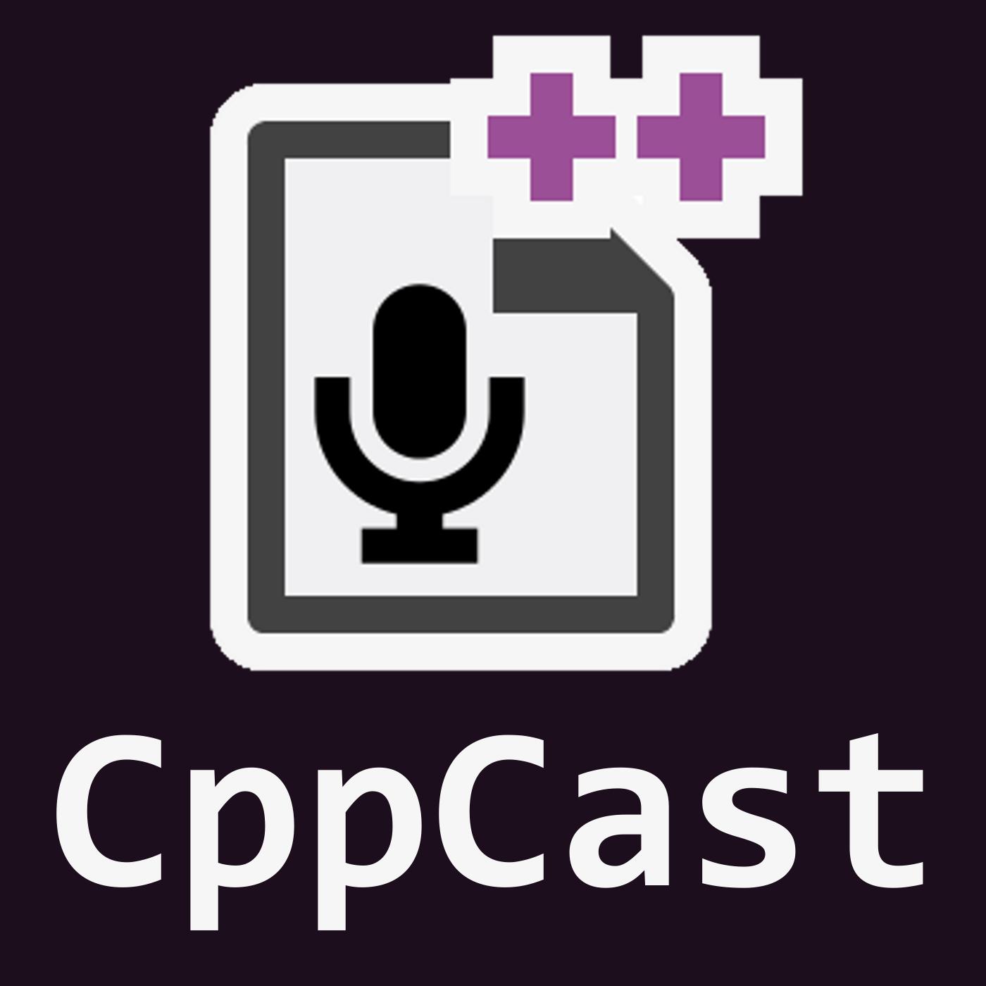 CppCast show art