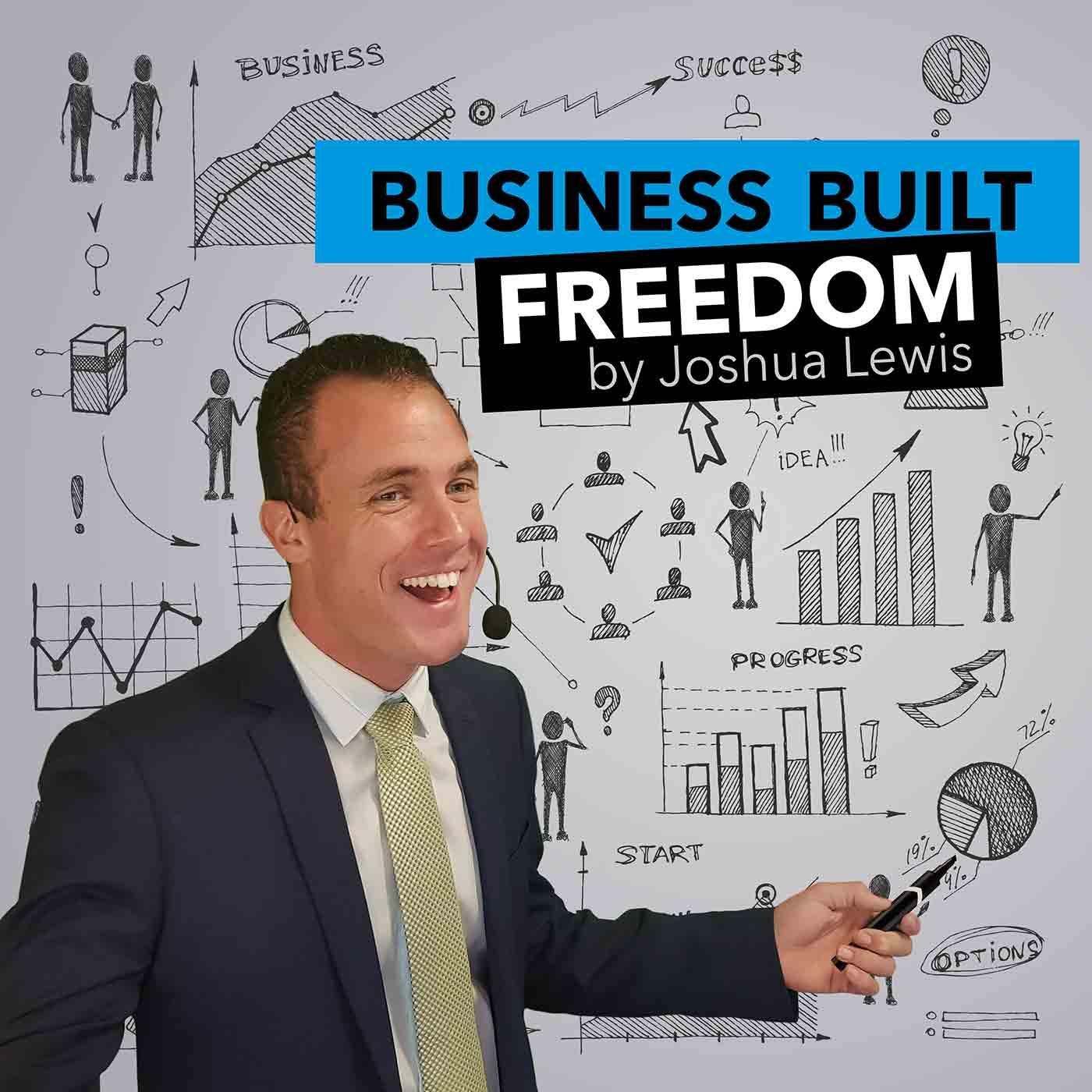 Business Built Freedom show art