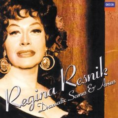 The Great Regina Resnik as Soprano and Mezzo-soprano