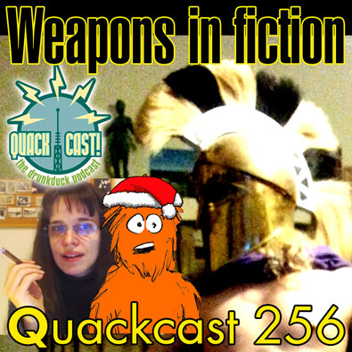 Episode 256 - Using and creating weapons in fiction
