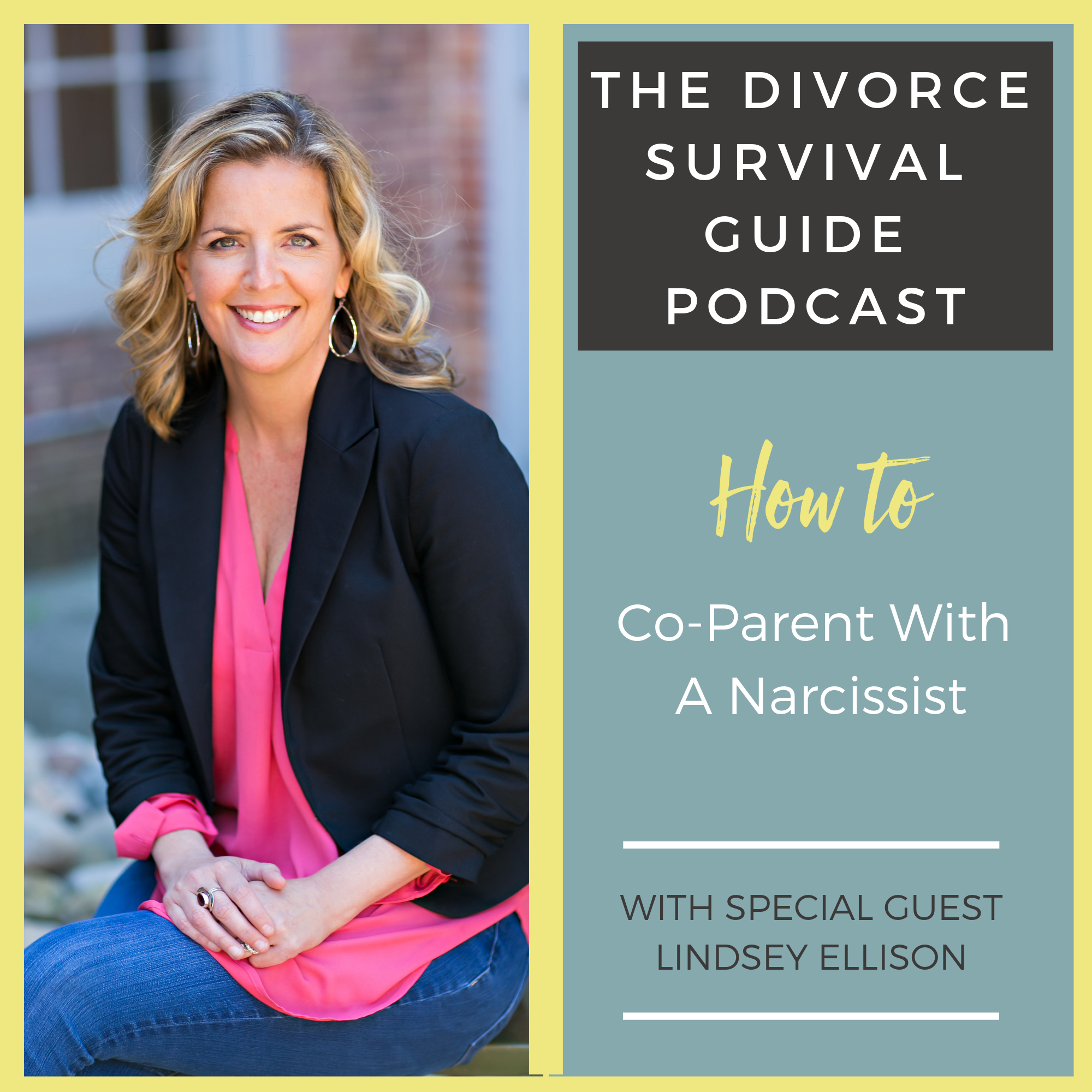 The Divorce Survival Guide Podcast - How To Co-Parent with a Narcissist with Lindsey Ellison