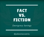 Artwork for Fact vs. Fiction: Emergency Savings