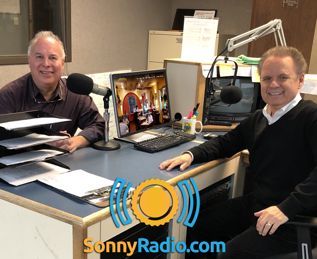 Sonny Melendrez with guest, Louie Barrios