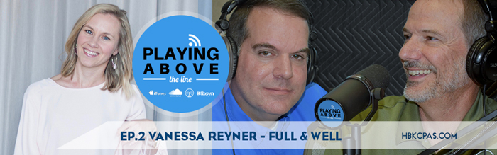 Playing Above The Lines | Ep2 | Vanessa Reyner | Full & Well