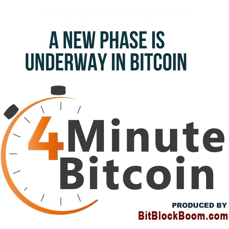 A New Phase Is Underway In Bitcoin