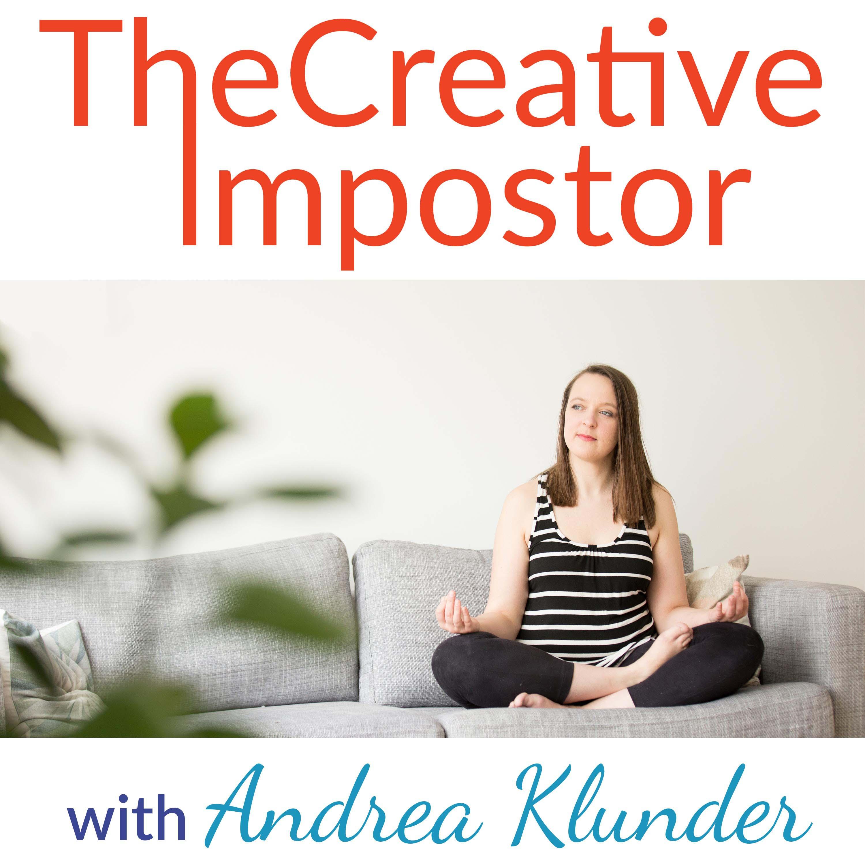 The Creative Impostor show art