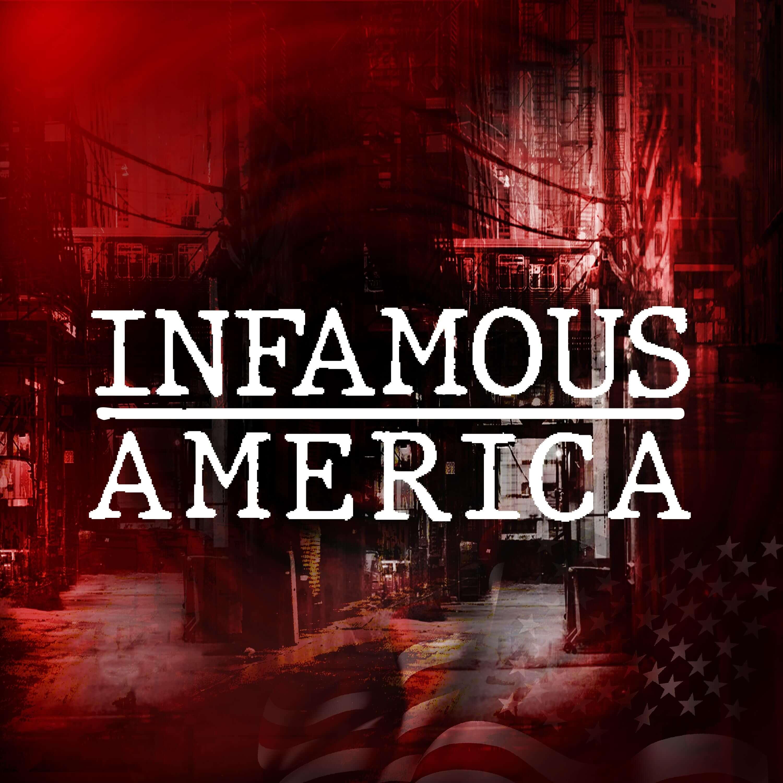 Infamous America show art