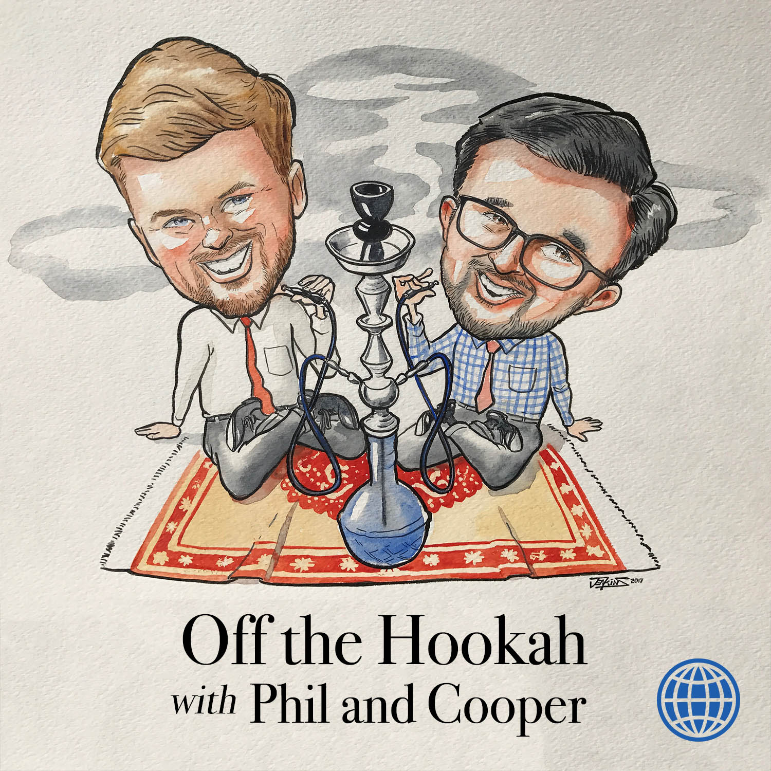Off the Hookah with Phil and Cooper logo