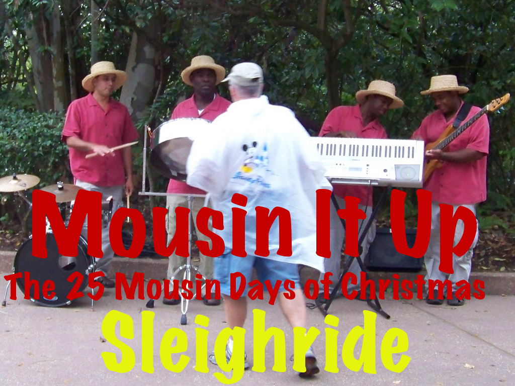 25 Mousin Days of Christmas - Sleighride