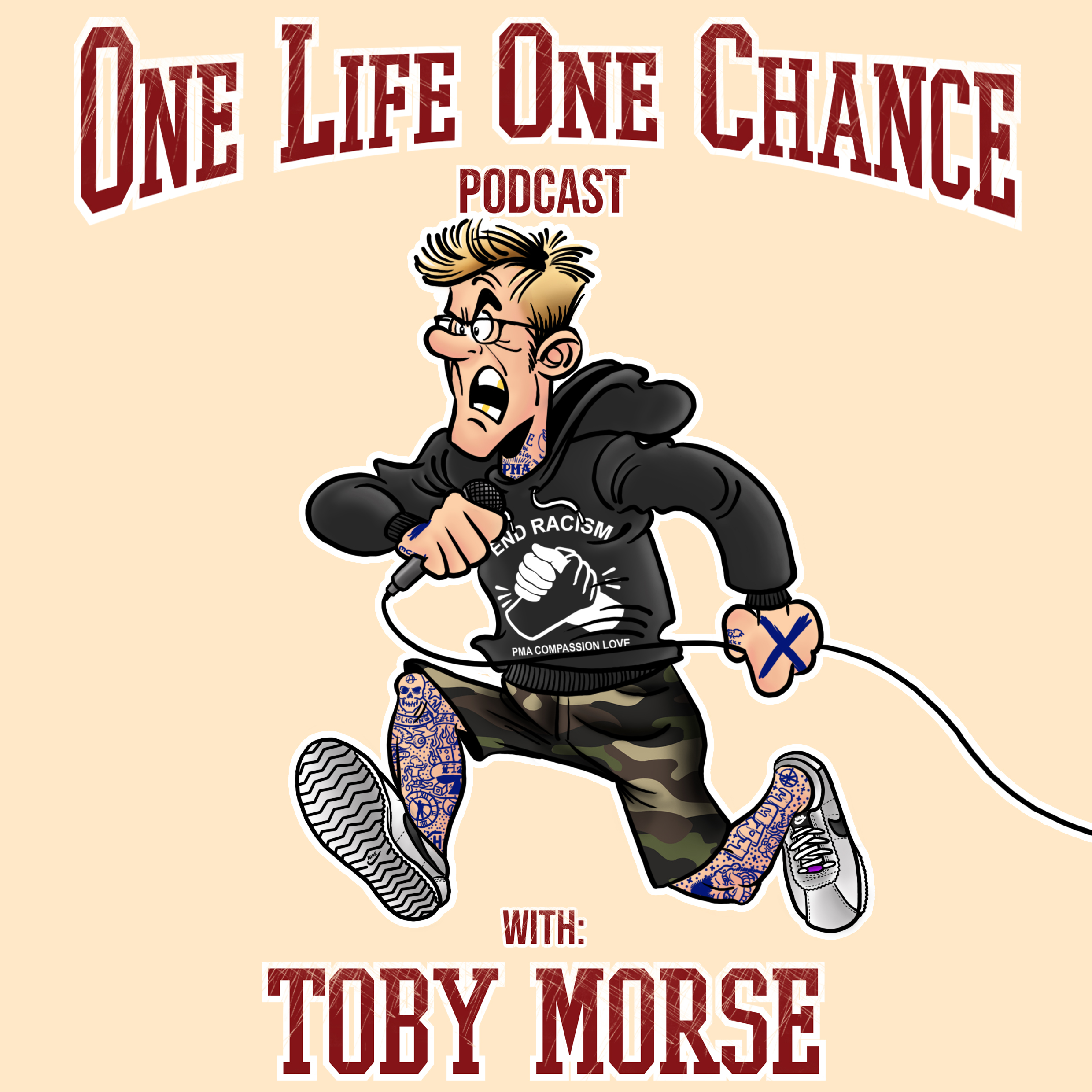 One Life One Chance with Toby Morse show art