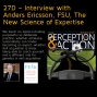 Artwork for 27D – Interview with Anders Ericsson, FSU, The New Science of Expertise