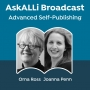 Artwork for How to be Creative for the Long Term, with Orna Ross and Joanna Penn: Advanced Self-Publishing Podcast