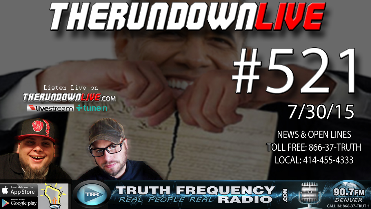 The Rundown Live #521 (Planned Parenthood Hack,Social Justice Warriors)