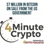 Artwork for 37 Million in Bitcoin On Sale From The US Government