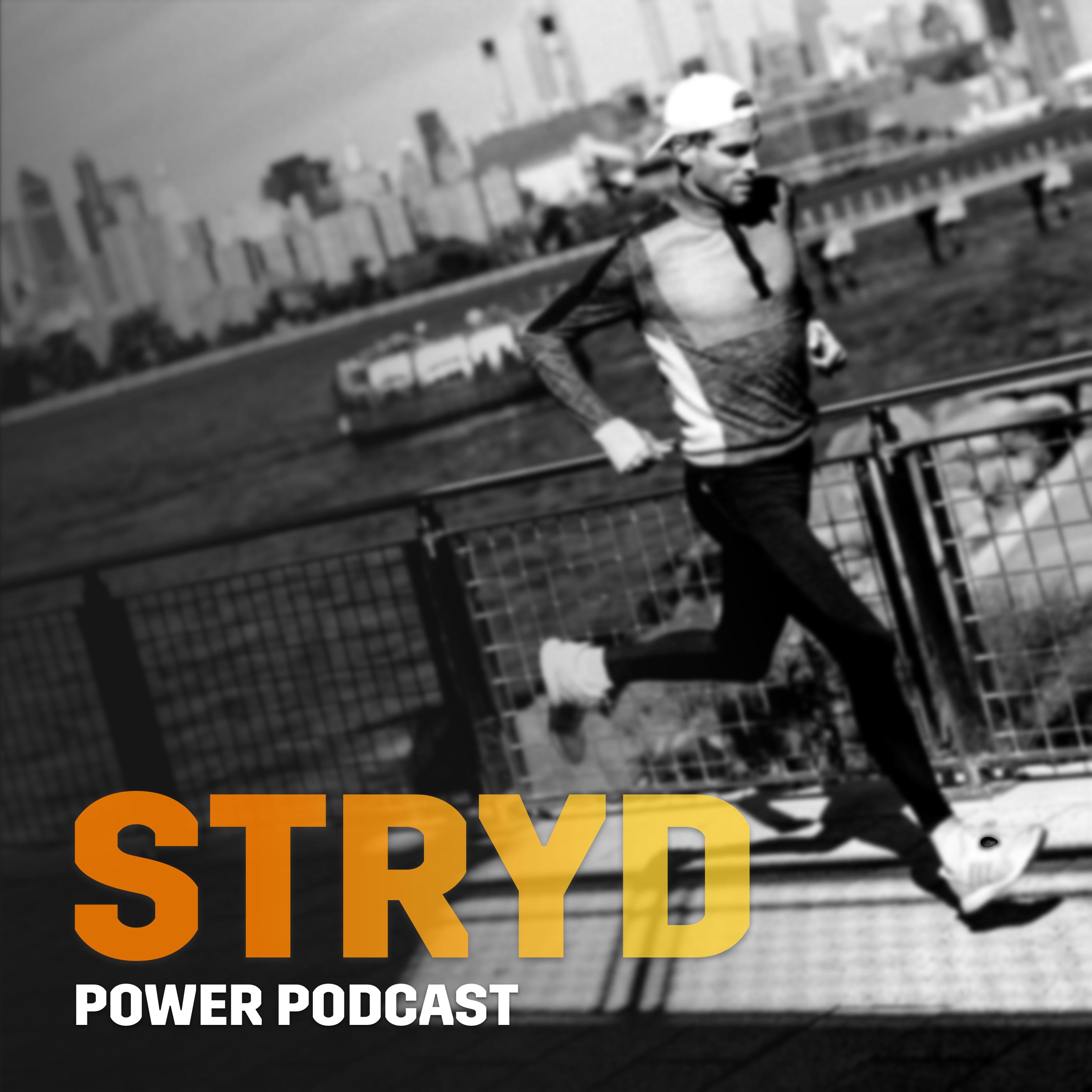 Stryd Power Podcast show art