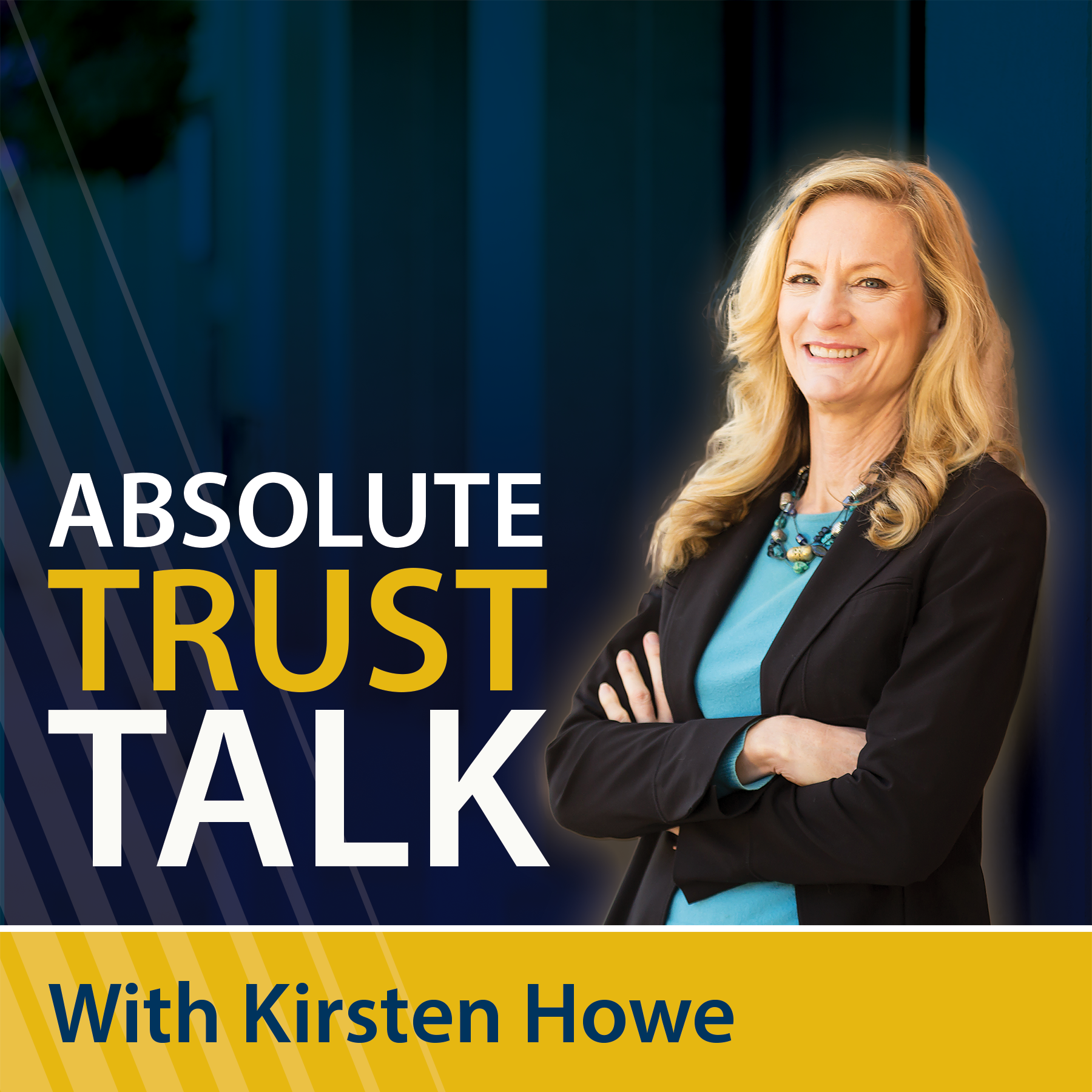 Absolute Trust Talk show art