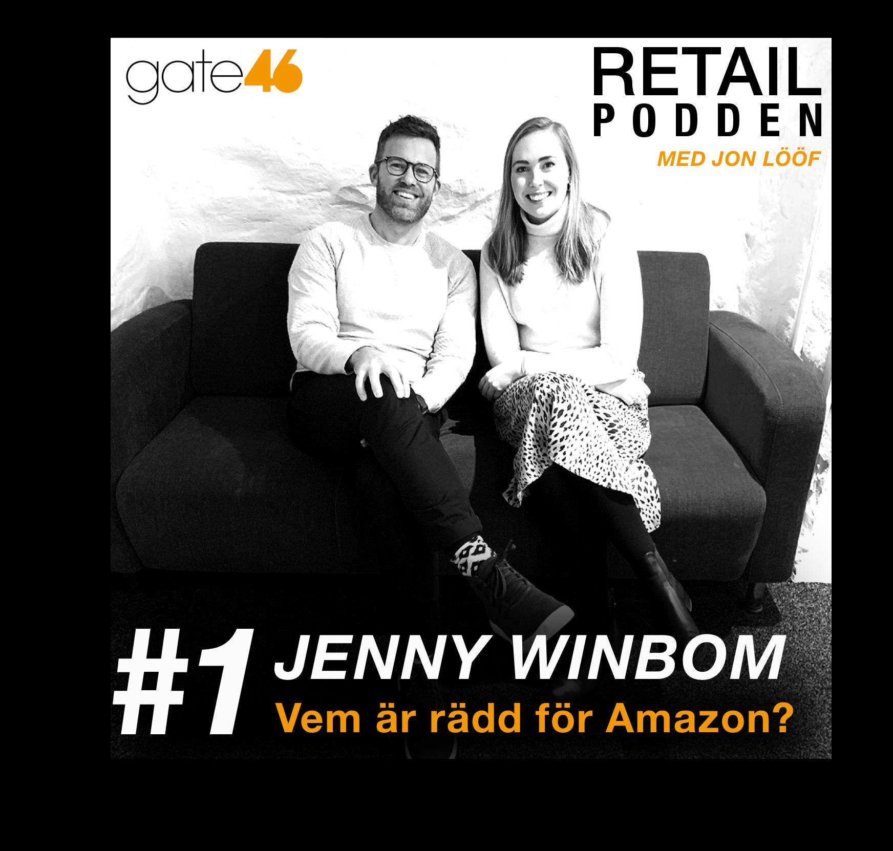 1. Jenny Winbom - Vem är rädd för Amazon?