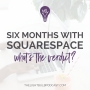 Artwork for Six Months With Squarespace What's the Verdict?