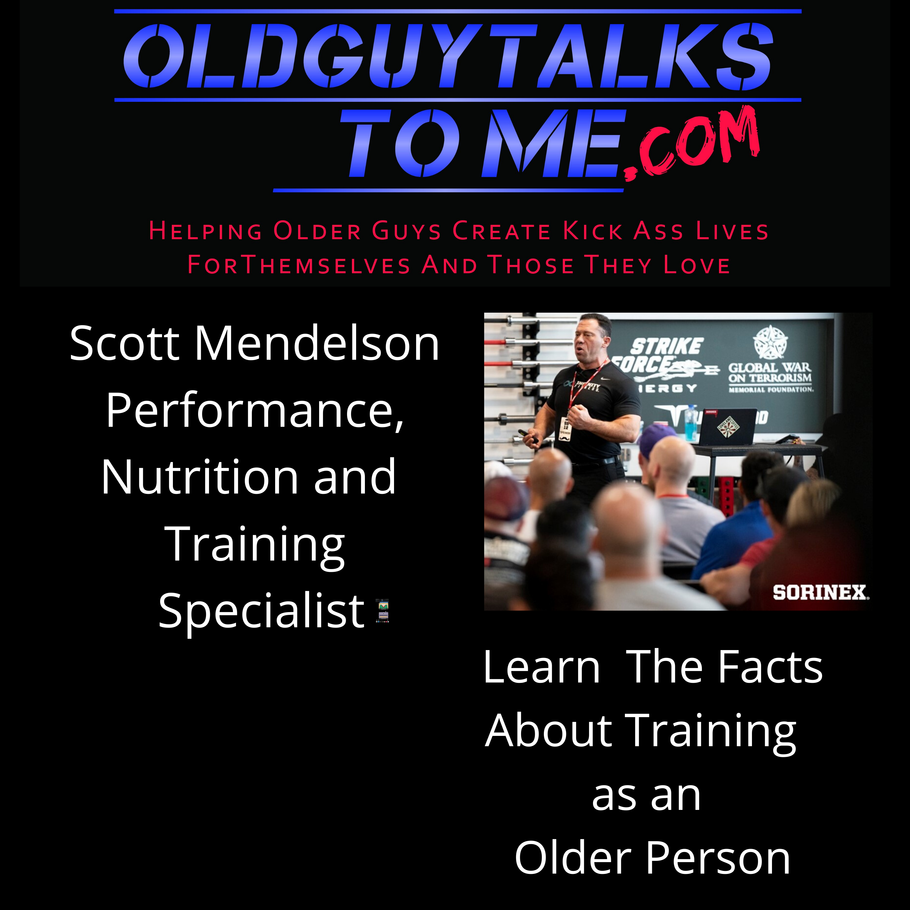 OldGuyTalksToMe - WORKING OUT AND AVOIDING INJURIES IS MORE OF A CHALLENGE AS WE GET OLDER