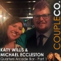 Artwork for Owning A Bar Is Not For The Meek: Michael Eccleston and Katy Willis of Quarters Arcade Bar in Salt Lake City, Part 1