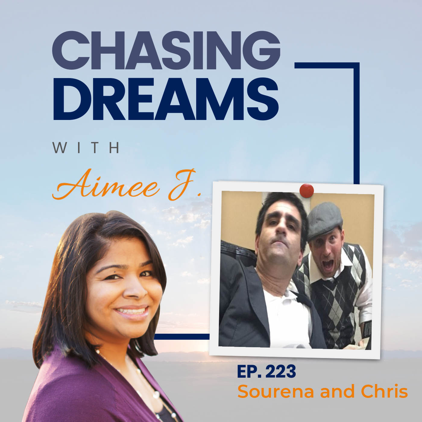 Ep. 223: Sourena and Chris - The Speaker Who Can't Speak and The Writer Who Can't Write