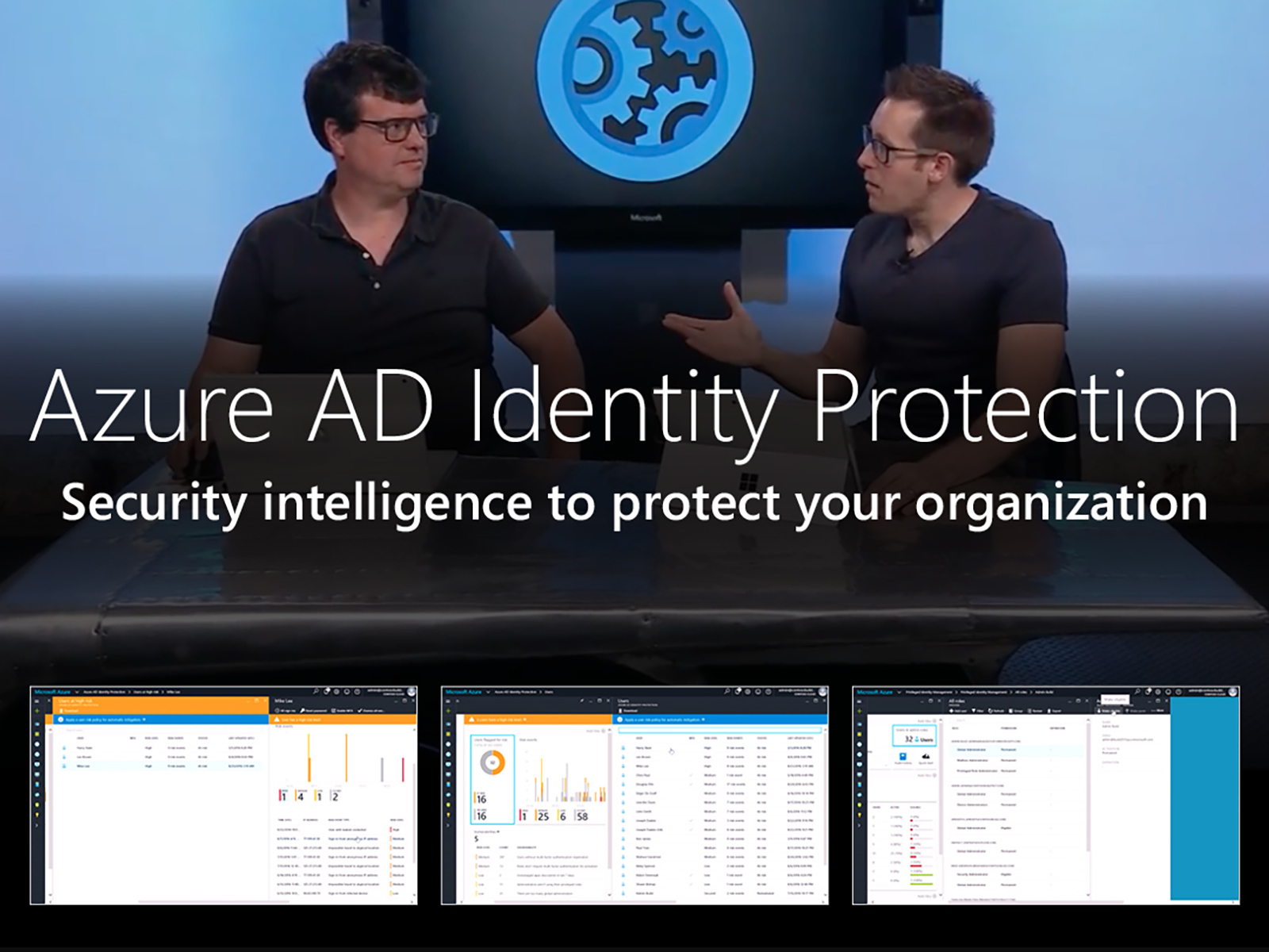 Artwork for Intelligent identity protection with Azure AD