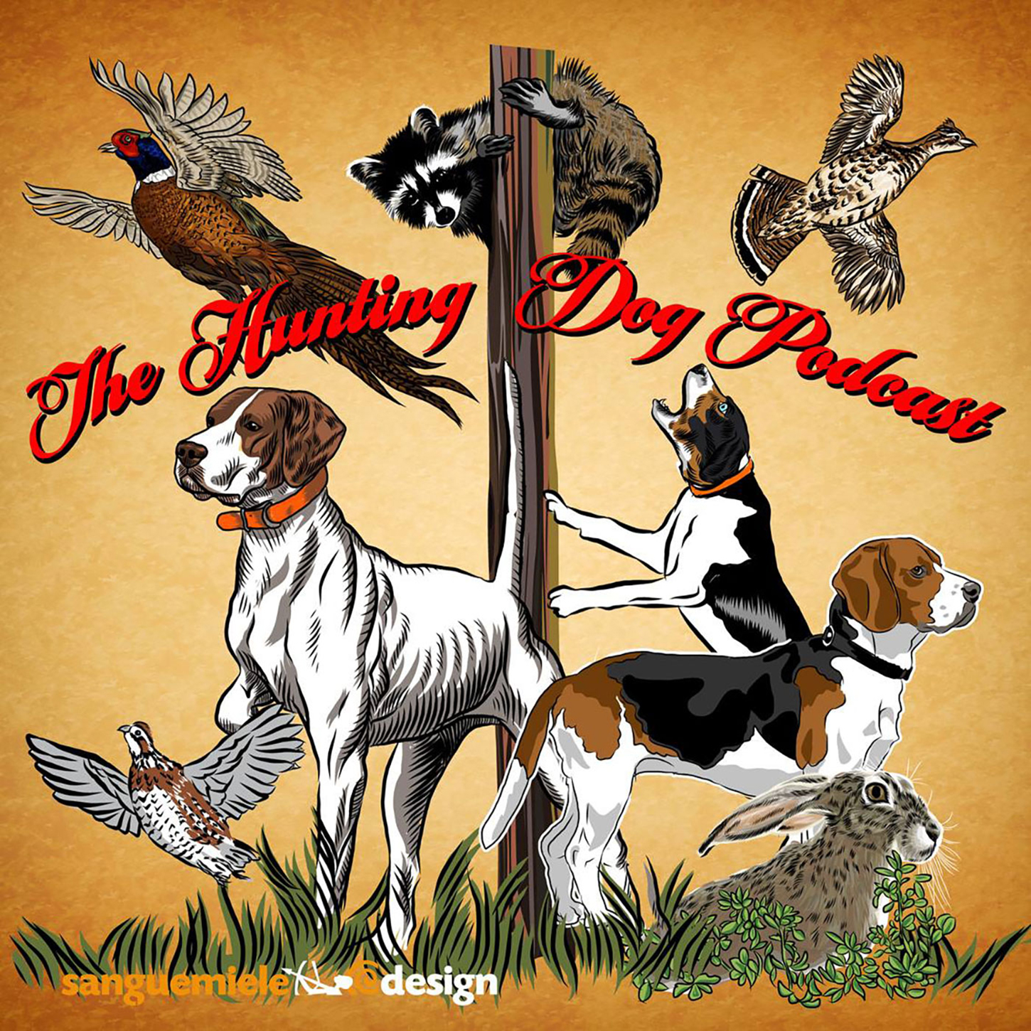 The Hunting Dog Podcast show art