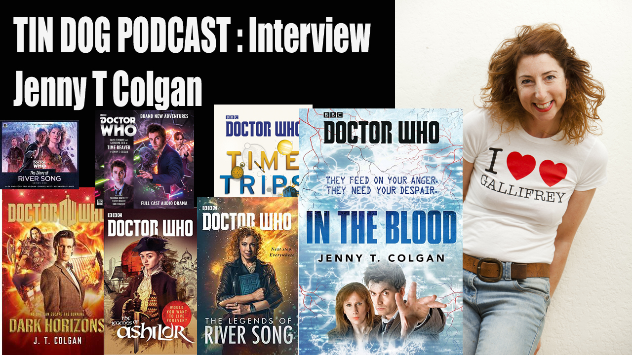 TDP 581: Jenny T Colgan INTERVIEW