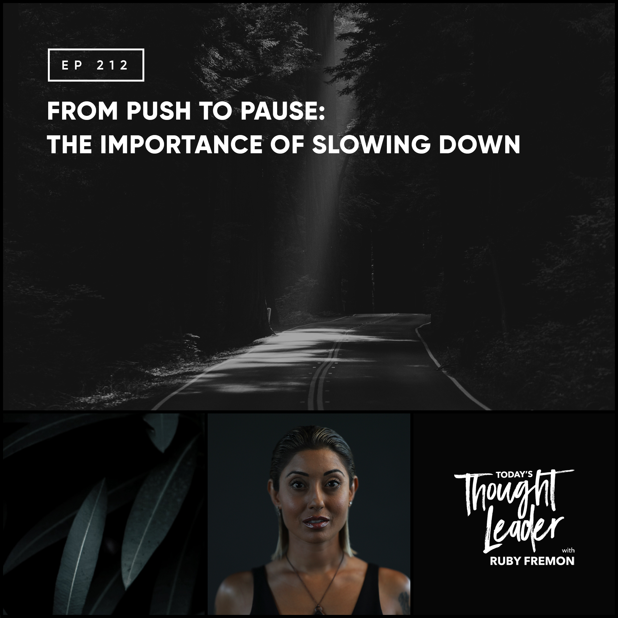 212: From Push to Pause: The Importance of Slowing Down