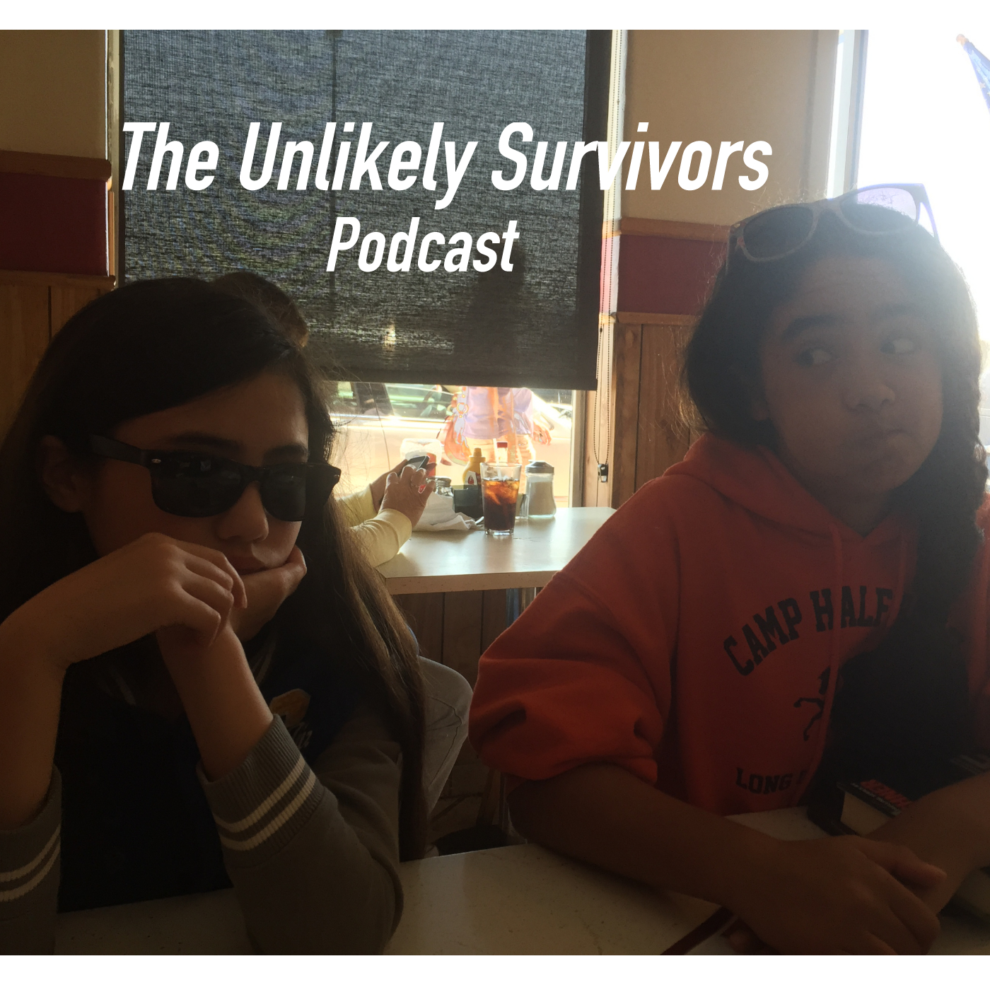 The Unlikely Survivors Podcast show art