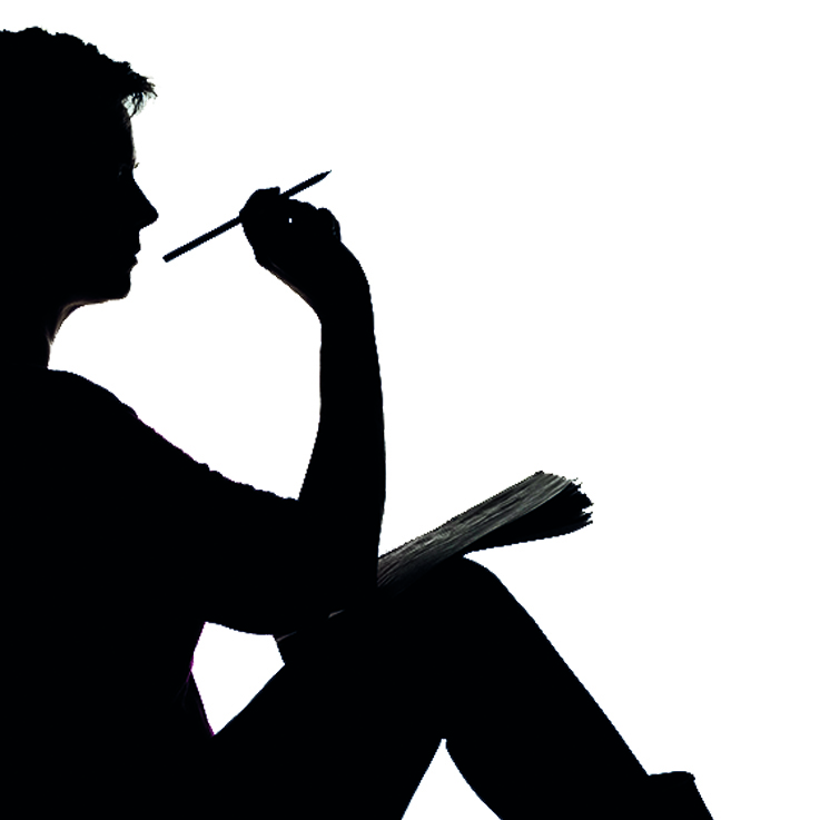skrivarpodden - för dig med författardrömmar logo