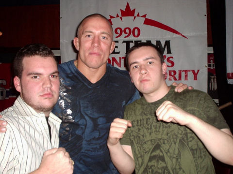 "Interview with Georges ""Rush"" St-Pierre"