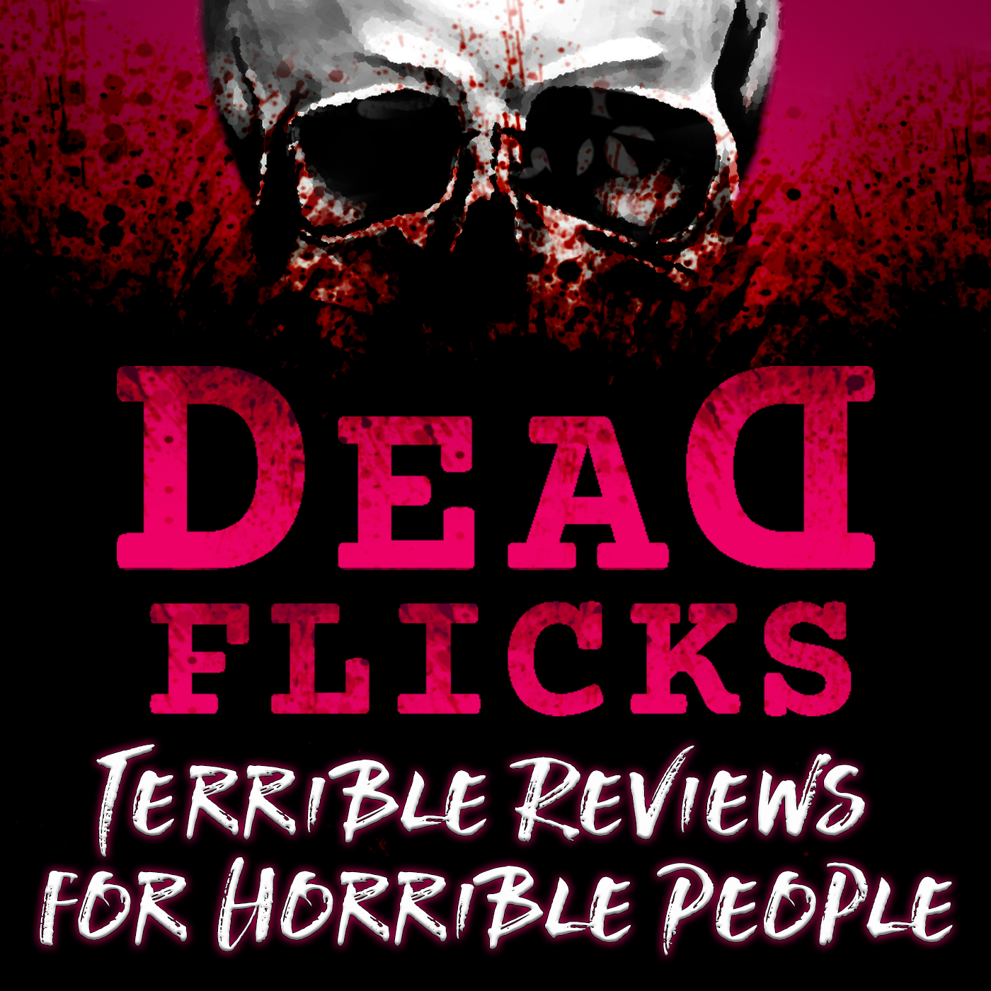 Deadflicks Horror Podcast show art