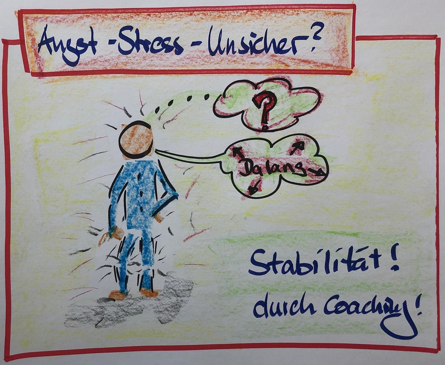 Stress, Angst und Unsicherheit sind schlechte Ratgeber