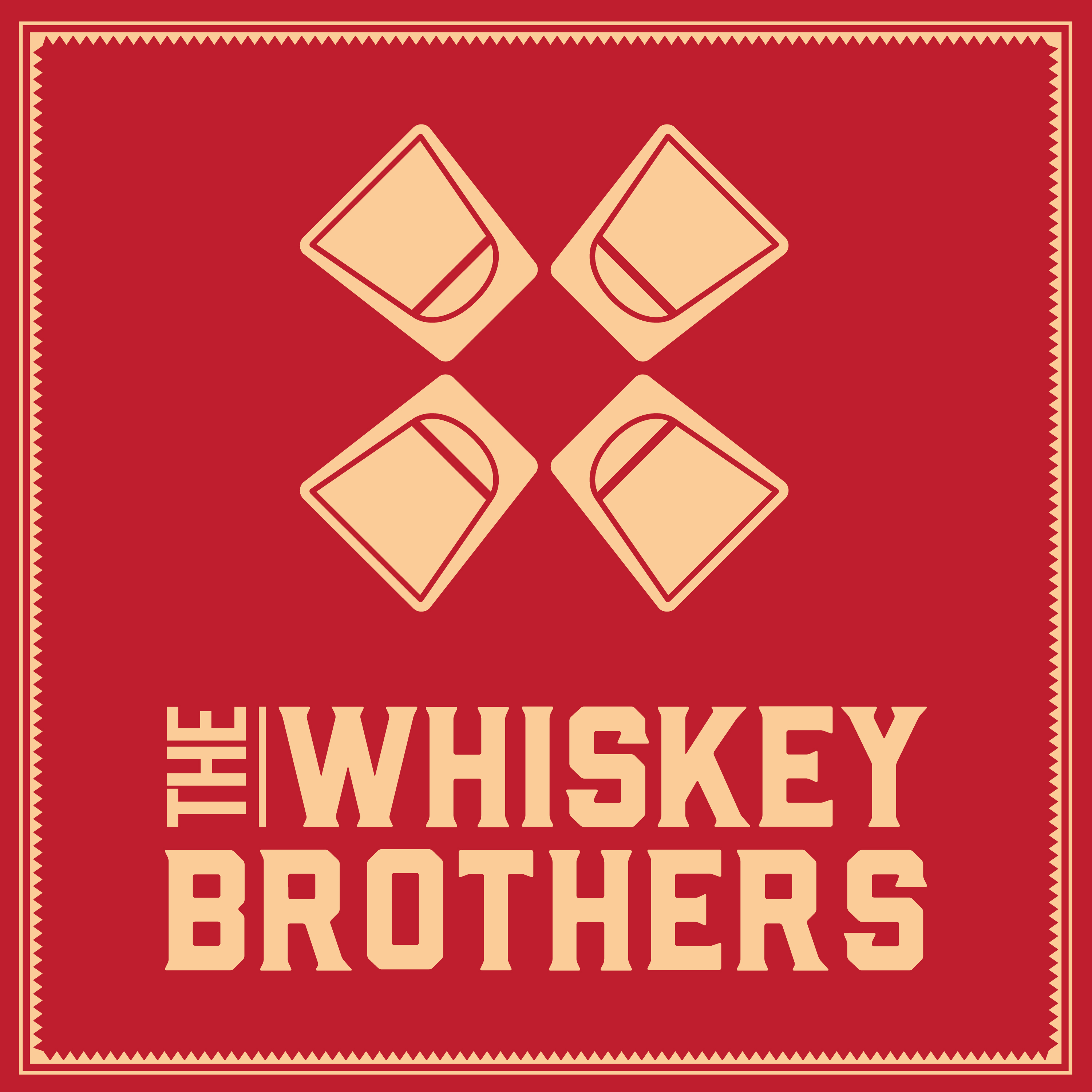 The Whiskey Brothers Comedy Podcast show art