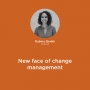 Artwork for New face of change management