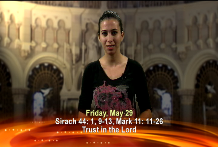 Artwork for Friday, May 29th Today's Topic: Trust in the Lord