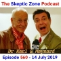 Artwork for The Skeptic Zone #560 - 14.July.2019