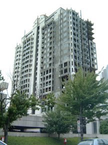The Park Condominiums:Unfinished.