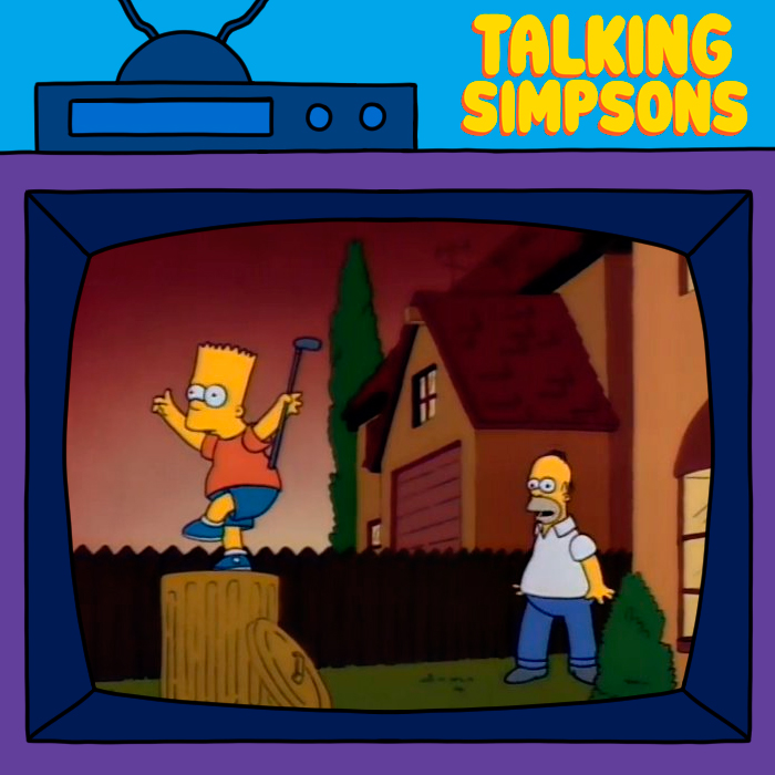 Talking Simpsons - Dead Putting Society With Mike Hanford